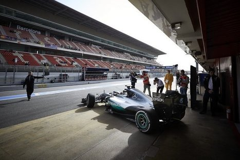 HAMILTON: THE MOST IMPRESSIVE FIRST DAY I'VE HAD | F 1 | Scoop.it