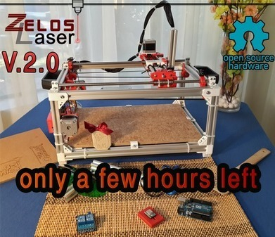 ZelosLaser Cutter 2.0 : Open Source, Sturdy & Versatile | Digital Design and Manufacturing | Scoop.it