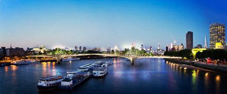 thomas heatherwick proposes garden bridge over thames - designboom | Architecture and Architectural Jobs | Scoop.it