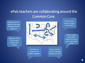 Common Core Implementation Center is part of  ePals Global Community - teachers share CCSS ELA projects | Cool School Ideas | Scoop.it