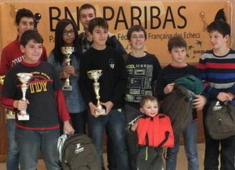 Associations Esbarres : quatre champions de Bourgogne d'échecs - Bien Public | Jeu d'échecs généralités | Scoop.it