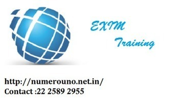 NumeroUno EXIM training Need In All the Standard Business | NumeroUno | Scoop.it