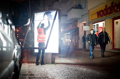 On the Run with Vermibus – Adbustings in Berlin « Just Taking Pictures | Berlin Life Style | Scoop.it