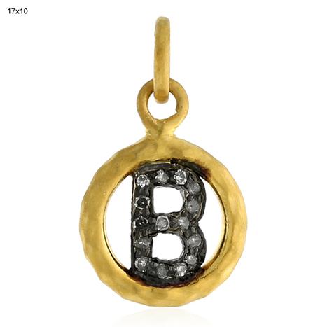 18k Gold Diamond B Pendant | Diamond Jewelry | GemcoDesigns | Pave Diamond Palm Bracelets | Diamond Jewelry | GemcoDesigns | Scoop.it