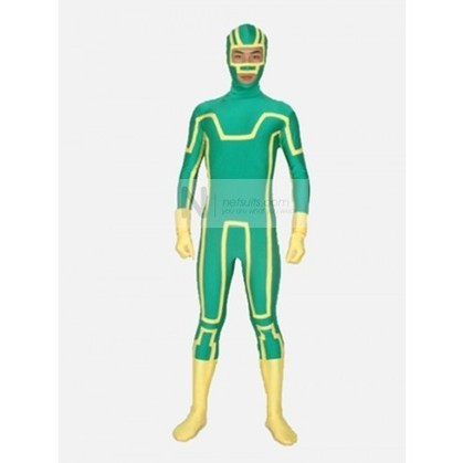 Zentai Costume for Kick Ass Aaron Johnson | Nefsuits-Superhero | Scoop.it