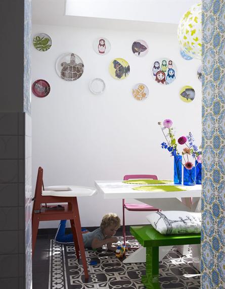 Une maison colorée pour une famille ultra fun | décoration & déco | Scoop.it