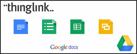 New! ThingLink & Google Docs Integration | ThingLink Blog | Google Docs for Learning | Scoop.it