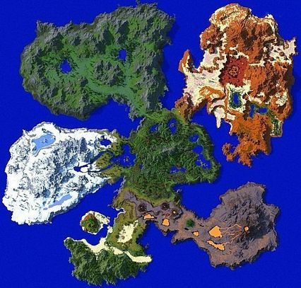 Lands of Iuvem Map for Minecraft   Minecraft 1.7.4/1.7.2   Map for Minecraft   Scoop.it