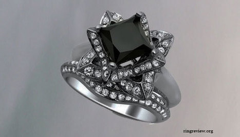 Princess Cut Black Diamond Engagement Rings -Colorful and Unique | Get rid Of Cellulite | Scoop.it