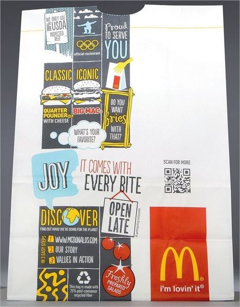 QR Codes Are On The New McDonald's Packaging | utilisation-qrcodes | Scoop.it