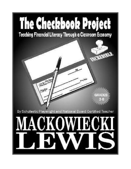 The Checkbook Project: Financial Literacy and Classroom Economy | Classroom in the future | Scoop.it
