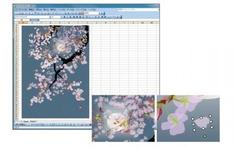 Stunning Japanese Paintings Created in Microsoft Excel | Excel | Scoop.it