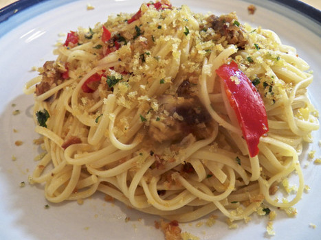 Pasta of the Last Minute: Linguini Fini with Sardines & Pickled Cherry Peppers | As You Want Dishes | Scoop.it