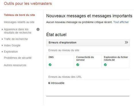 Tuto: Google Webmaster Tools pour les nuls | Actu Web marketing - Blogging | Scoop.it