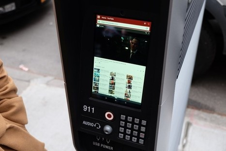Hands On With the Free Android Tablets at LinkNYC's Sidewalk Kiosks   Tablets POS Retail Self-Service   Scoop.it