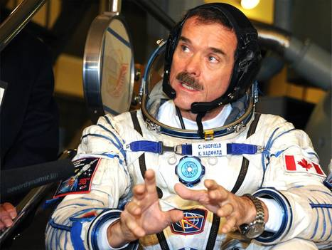 An astronaut in cyberspace: How Chris Hadfield used Twitter to give us all (even Star Trek's William Shatner) a taste of life on the International Space Station | Criminal justice | Scoop.it