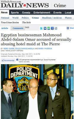 Un Businessman Egyptien arrêté dans les mêmes circonstances que DSK | Mais n'importe quoi ! | Scoop.it