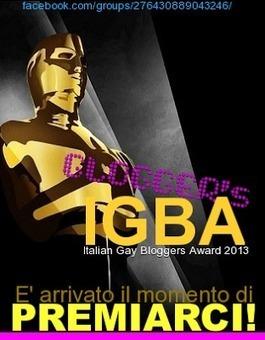 JHP by jimiparadise™: Italian Gay Bloggers Award 2013: E' arrivato il momento di premiarci! | QUEERWORLD! | Scoop.it