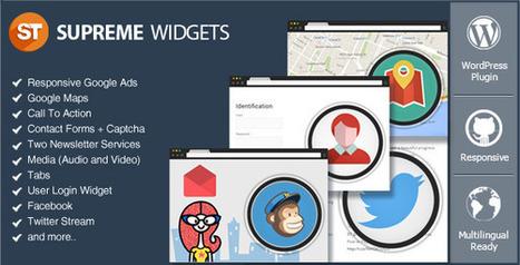 Supreme Widgets Social Marketing WordPress Plugin (Widgets) | The Digital Agency | Scoop.it