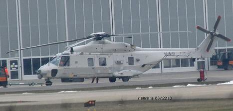 First Belgian Navy NH Industries NH90 NFH - 98+51 | Marinehubschrauber | Scoop.it