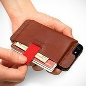 Distil Union Wally iPhone Wallet - $40 | gadgetinfo | Scoop.it