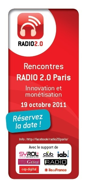 Rencontres RADIO 2.0 Paris | Radio 2.0 (En & Fr) | Scoop.it