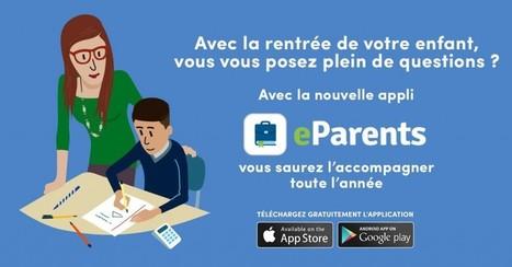NetPublic » eParents : Application mobile personnalisée pour les parents d'enfants du CP à la 3e | L'e-Space Multimédia | Scoop.it