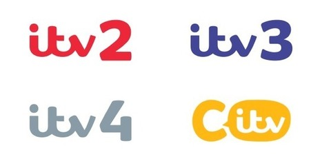 New look: ITV2, ITV3, ITV4 and CITV | Corporate Identity | Scoop.it