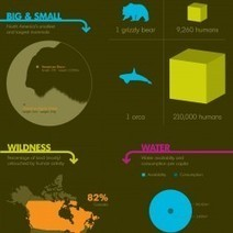 How Wild is North America? | Visual.ly | North America | Scoop.it