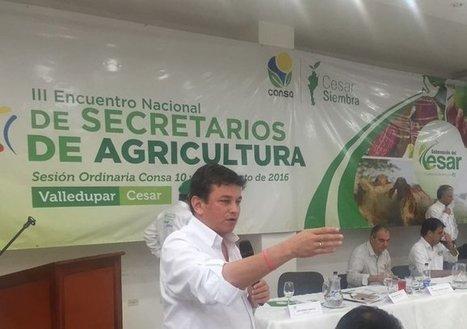 Intervención presidente @Finagro @CarlosRamiroCH Encuentro Nacional Secretarios de Agricultura en Valledupar Cesar | @CarlosRamiroCH | Scoop.it