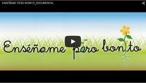 Enséñame, pero bonito. Documental | Aprendiendoaenseñar | Scoop.it