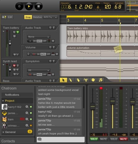 Ohm Studio : Station de production audio professionnelle collaborative | Time to Learn | Scoop.it