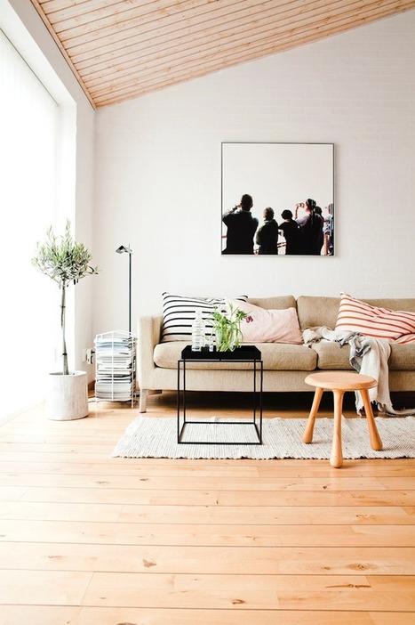 Une belle maison confortable en Suède | | décoration & déco | Scoop.it