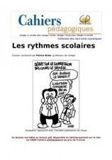 Les rythmes scolaires   Société éducative   Scoop.it