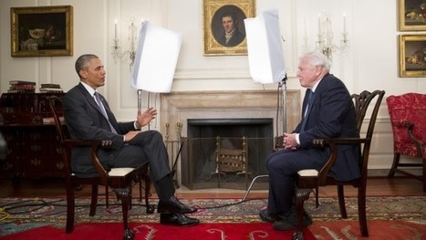 Barack Obama turns tables in David Attenborough climate change interview | Sustain Our Earth | Scoop.it