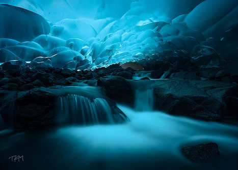 Mendenhall Ice Caves, Juneau, Alaska | Photos history | Scoop.it
