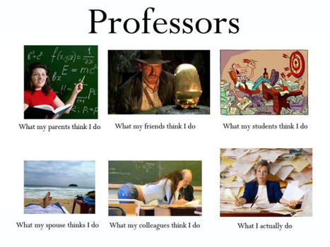 Professors | What I really do | Scoop.it