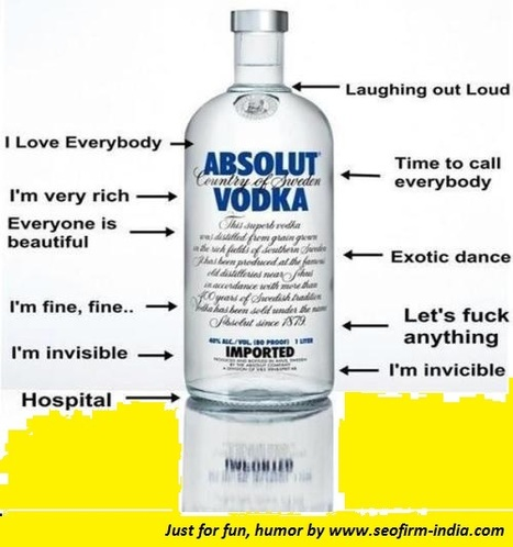 Absolute Vodka | Just for Fun and Humor | Scoop.it