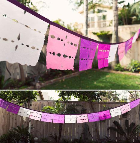 DIY Papel Picado from GreenWeddingShoes.com | papel picado | Scoop.it