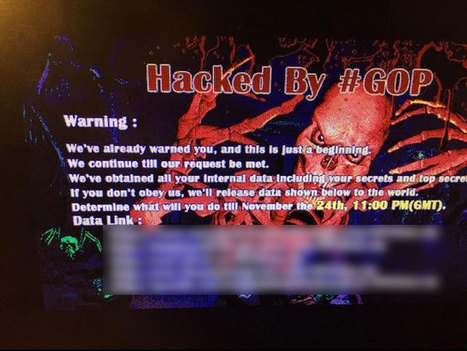 Sony Pictures hacked, entire computer system reportedly unusable   MarketingHits   Scoop.it
