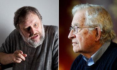The Slavoj Žižek vs Noam Chomsky spat is worth a ringside seat | Archivance - Miscellanées | Scoop.it