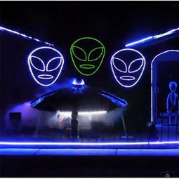 10 Spooktacular Halloween Lighting Displays | DIY Home Theater | Scoop.it