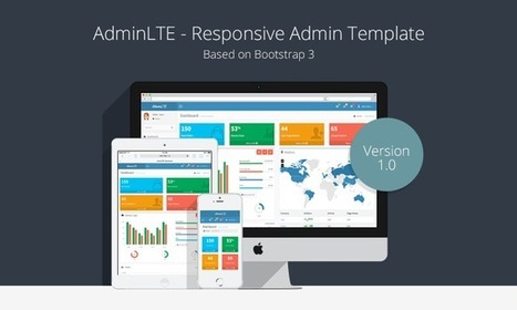 AdminLTE - Free Admin CP Theme That Is Based On Bootstrap 3.x   Learning Laravel   laravel   Scoop.it