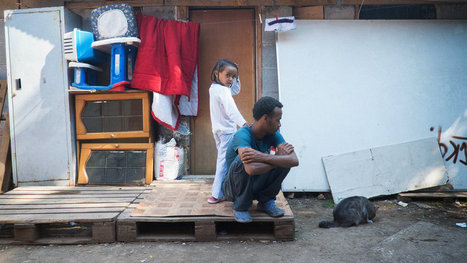 Palace of Squatters Is a Symbol of Refugee Crisis | AP Human Geography | Scoop.it