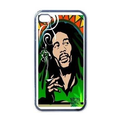 Apple iPhone Case - Bon Marley Smoking G - iPhone 4 Case Cover | Merchanstore - Accessories on ArtFire | Custom iPhone 4 or 4S Case Cover | Scoop.it