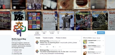 Twitter Accounts to Follow for Localization and Translation Buzz | Web Content Enjoyneering | Scoop.it