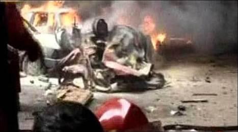 Car bomb wounds 15 in Beirut suburb: army source - The News International   observaciones de medios de pakistan e india   Scoop.it