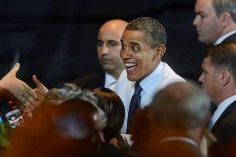 """Obama presume de no bailar salsa """"tan mal""""   Bailes latinos   Scoop.it"""