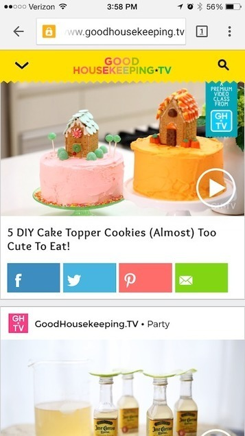 Good Housekeeping extends into paid classes through mobile video | digitalNow | Scoop.it