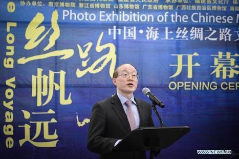Exposition de photos sur la Route de la Soie maritime au siège de l'ONU | Textile Horizons | Scoop.it